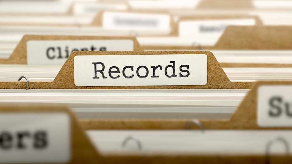 Recordkeeping Requirements for Business